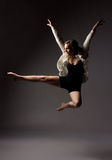 Beautiful female dancer Stock Image