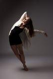 Beautiful female dancer stock image