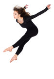Beautiful female dancer Stock Images