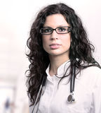 Beautiful female doctor Royalty Free Stock Image