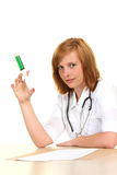 Beautiful female doctor Stock Photography