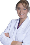 Beautiful female doctor Stock Images