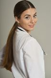 Beautiful Female doctor Royalty Free Stock Photos