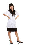 Beautiful Female doctor standing Royalty Free Stock Images