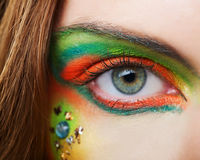 Beautiful female eye Royalty Free Stock Photos