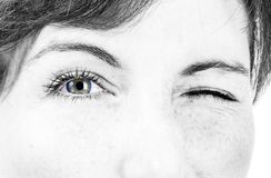 Beautiful female eye Royalty Free Stock Photos