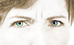 Beautiful female eye Royalty Free Stock Images