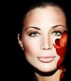 Beautiful female face Royalty Free Stock Photo