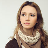 Beautiful female face Royalty Free Stock Photo