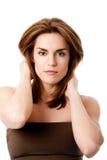 Beautiful female face Royalty Free Stock Photos