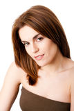 Beautiful female face Royalty Free Stock Images