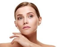 Beautiful female face Royalty Free Stock Image
