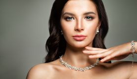 Beautiful Female Face. Young Woman Royalty Free Stock Photo