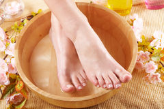 Beautiful female feet Royalty Free Stock Photo