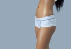 Beautiful female figure Stock Images