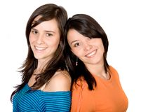 Beautiful female friends Royalty Free Stock Image