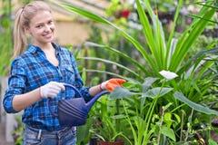 Beautiful female gardener Royalty Free Stock Photo