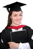 Beautiful female graduate Royalty Free Stock Photography