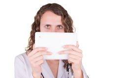 Beautiful female healthcare worker Royalty Free Stock Photo