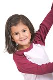 Beautiful female kid smiling Royalty Free Stock Image