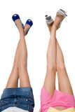 Beautiful female legs Stock Photos