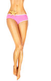 Beautiful female legs Stock Photography