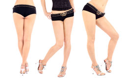 Beautiful female legs Royalty Free Stock Photos