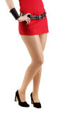 Beautiful female legs Royalty Free Stock Photography