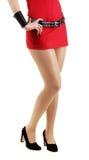 Beautiful female legs Royalty Free Stock Photography