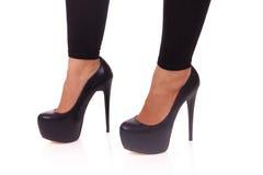 Beautiful female legs, african woman Royalty Free Stock Photos