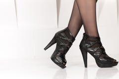 Beautiful female legs Stock Photos
