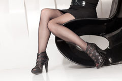 Beautiful female legs Royalty Free Stock Image