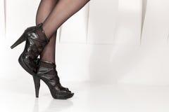 Beautiful female legs Stock Image
