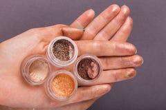 Beautiful female manicure Stock Image