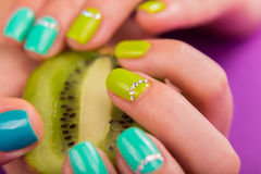 Beautiful female manicure Royalty Free Stock Photo