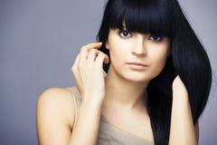 Beautiful female model Royalty Free Stock Images