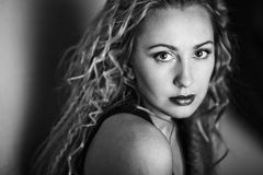 Beautiful female model Royalty Free Stock Photo