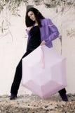 Beautiful female model royalty free stock image