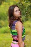 Beautiful female model posing Stock Photos