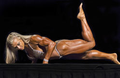 Beautiful Female Physiques Displayed in Vancouver Stock Image