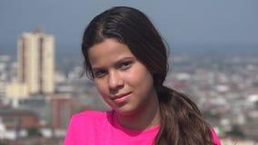 Beautiful Female Pretty Teen Girl stock video
