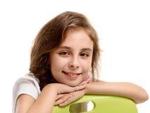 Beautiful female pupil Royalty Free Stock Image