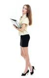 Beautiful female secretary Royalty Free Stock Photos