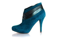 Beautiful female shoes with high heels. Stock Photography