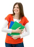 Beautiful female student Royalty Free Stock Photo
