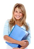 Beautiful female student Stock Photos