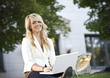 Beautiful Female Student Portrait Royalty Free Stock Images