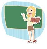 Beautiful female teacher Royalty Free Stock Photo