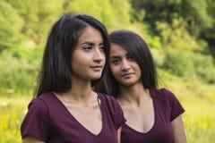Free Beautiful Female Twins Stock Photo - 102179730