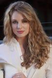 Beautiful female white model posing Stock Photo